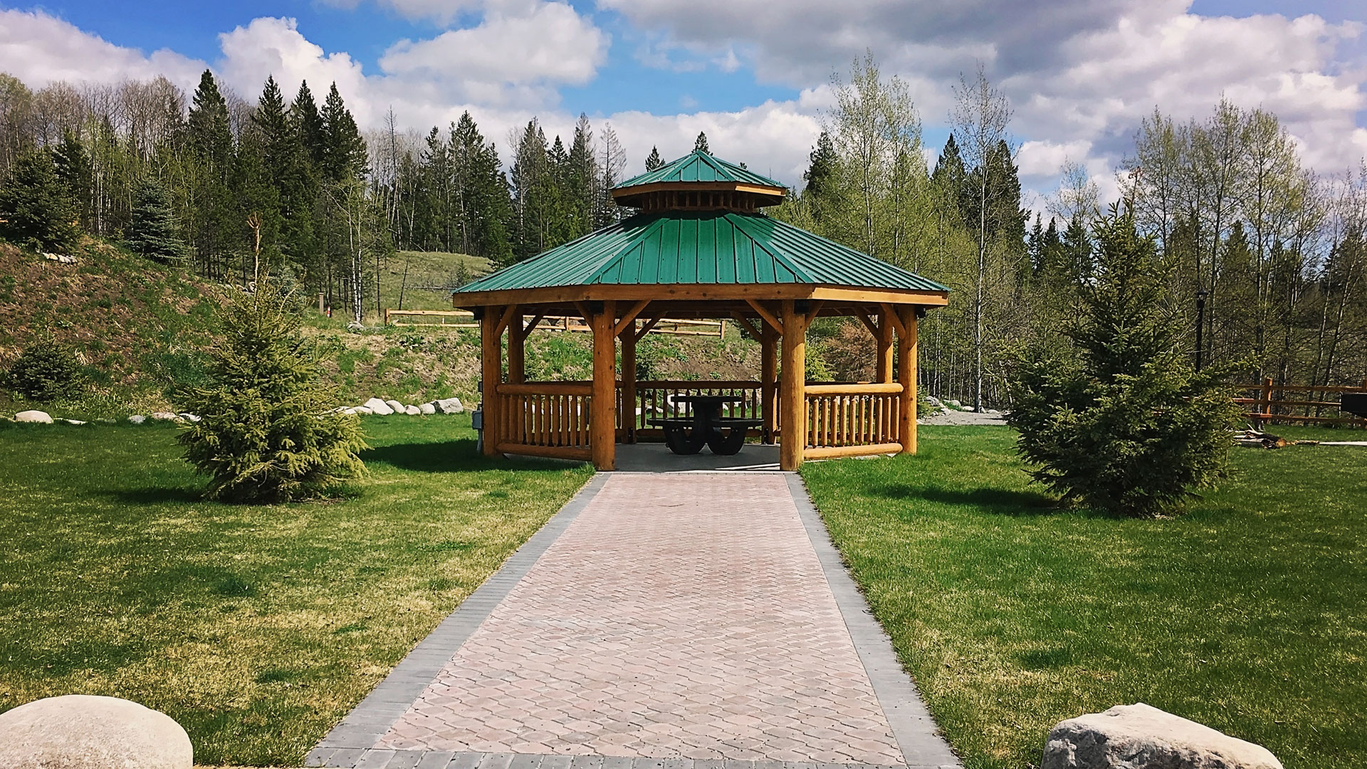 Cedar Log Gazebos Valleyview Lumber